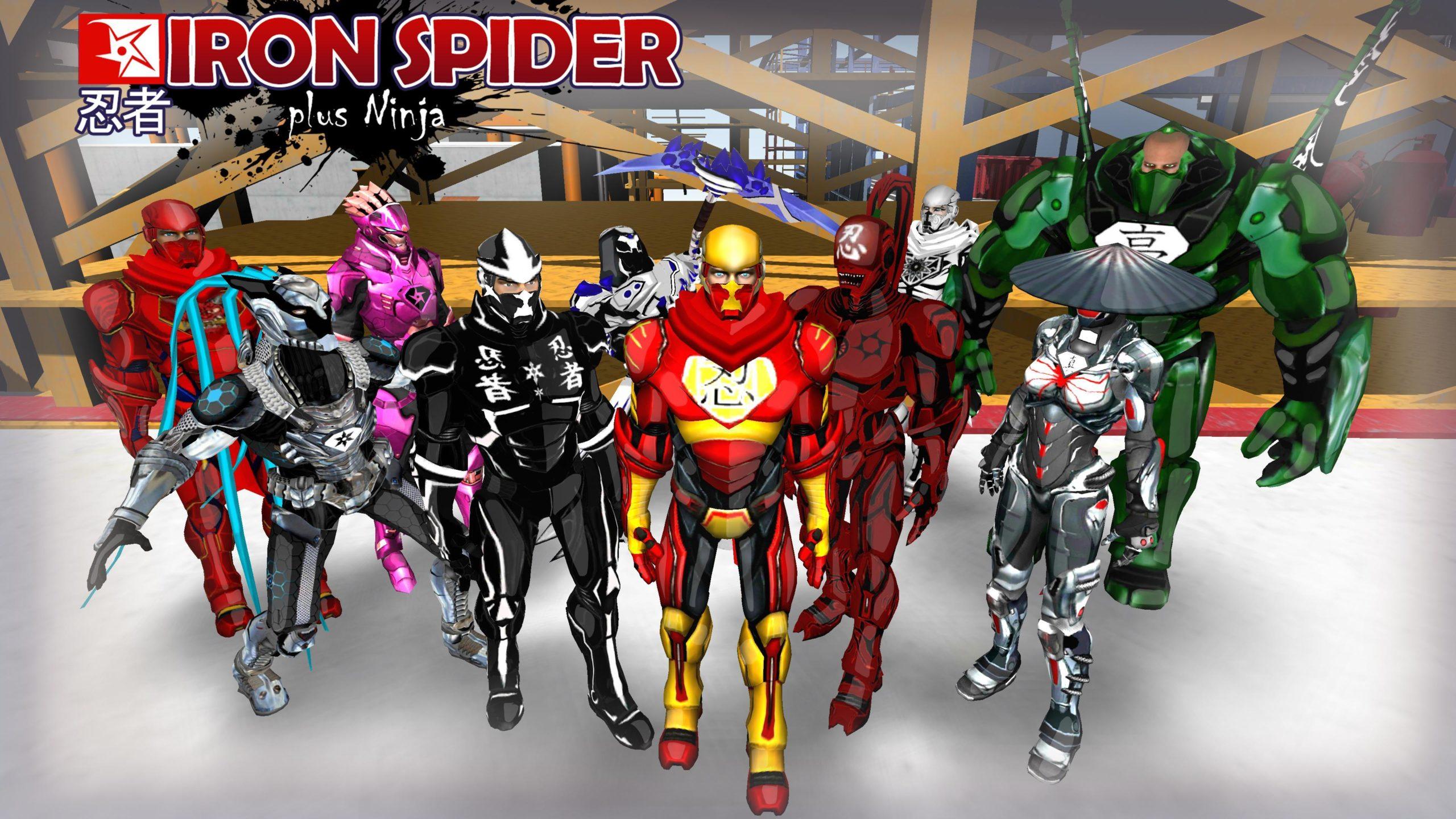 The Amazing Iron Spider v 4.01 (Mod Money) 2