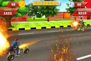 Modern Armored Bike Attack 1