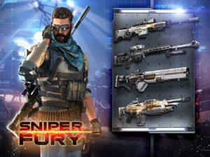 Sniper Fury: best shooter game v 5.7.0e Мод (много денег) 4